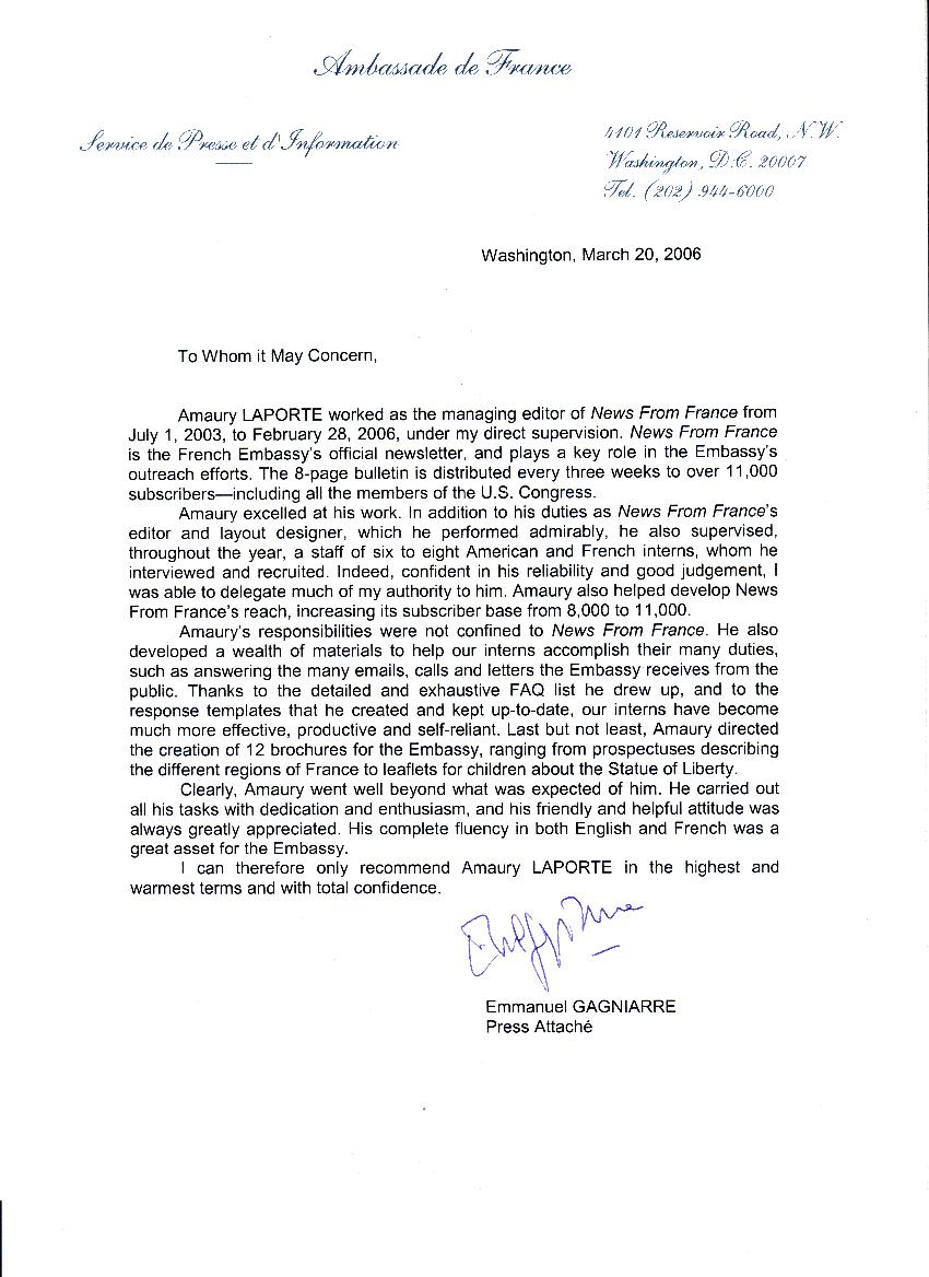 amaury laporte - resume - cv - dissertation